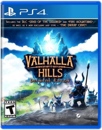 Valhalla Hills Definitive Edition - PS4 - Novo