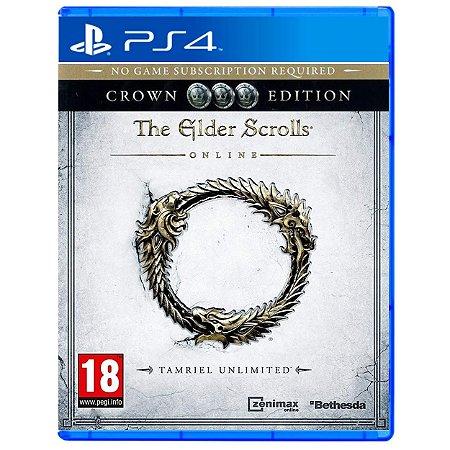 The Elder Scrolls Online Crown Edition - PS4 - Novo