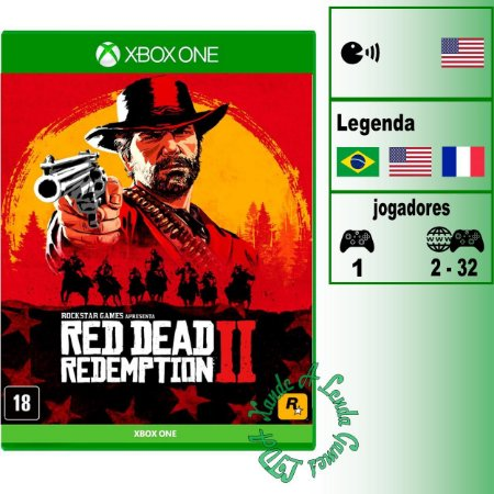 Red Dead Redemption 2 - XBOX ONE - Novo