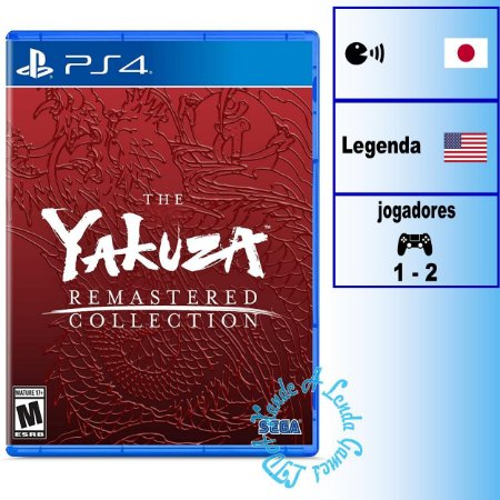 The Yakuza Remastered Collection - PS4 - Novo