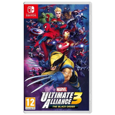 Marvel Ultimate Alliance 3 The Black Order - SWITCH - Novo