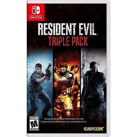 Resident Evil Triple Pack - SWITCH - Novo