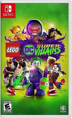 LEGO DC Super-Vilões - SWITCH - Novo
