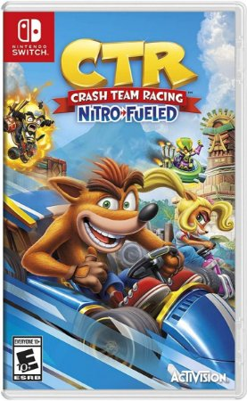 Crash Team Racing Nitro-Fueled - SWITCH - Novo