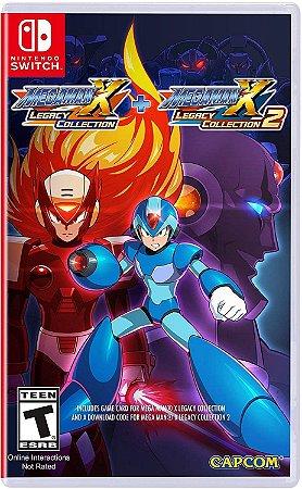 Mega Man X Legacy Collection 1 + 2 - SWITCH - Novo