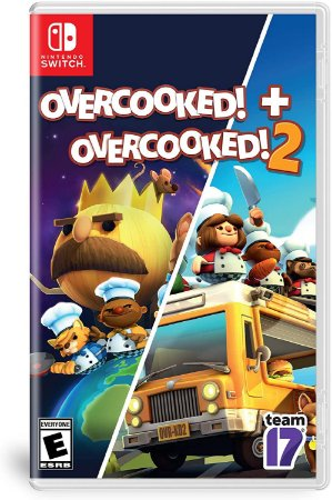 Overcooked! Special Edition + Overcooked! 2 - SWITCH - Novo