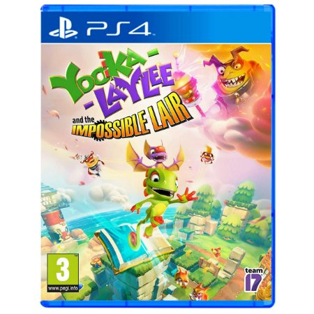 Yooka-Laylee and the Impossible Lair - PS4 - Novo