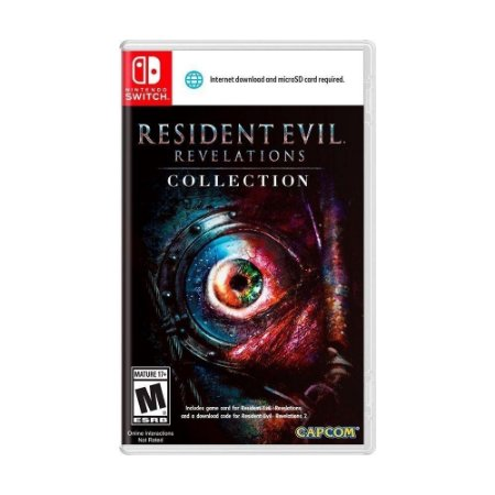 Resident Evil Revelations Collection - SWITCH - Novo