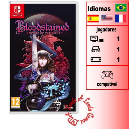 Bloodstained Ritual of the Night - SWITCH - Novo