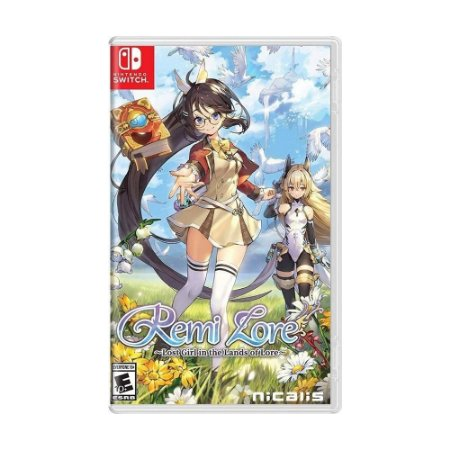 Remilore: Lost Girl in the Lands of Lore - SWITCH - Novo