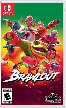 Brawlout - SWITCH - Novo