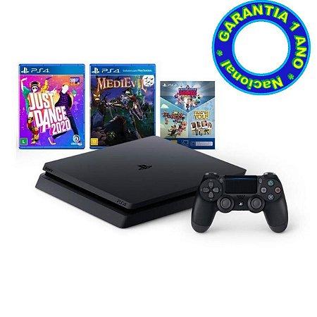 Console PlayStation 4 Slim Mega Pack 11 (Nacional) - Novo