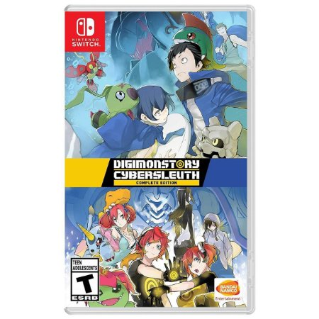 Digimon Story Cyber Sleuth Complete Edition - SWITCH - Novo [EUA]