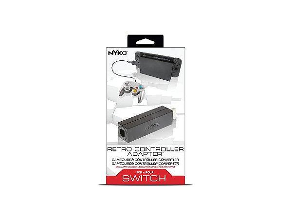Adaptador de Controle de Gamecube para Nintendo Switch - Nyko - Novo