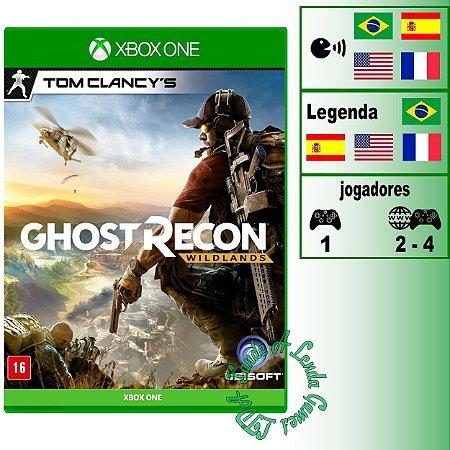 Tom Clancy's Ghost Recon Wildlands - XBOX ONE - Novo