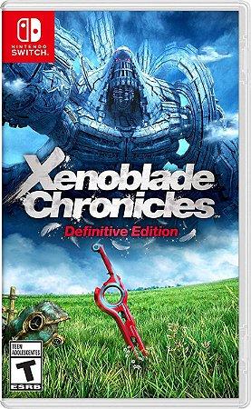 Xenoblade Chronicles Definitive Edition - SWITCH - Novo
