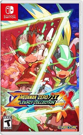 Megaman Zero/ZX Legacy Collection - SWITCH - Novo