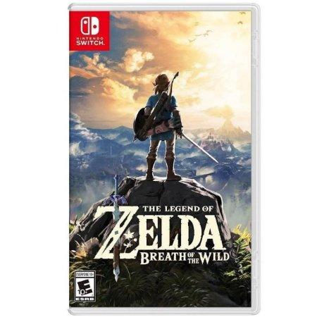 The Legend of Zelda Breath of the Wild - SWITCH - Novo