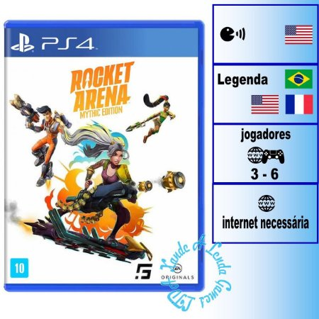 Rocket Arena Mythic Edition - PS4 - Novo