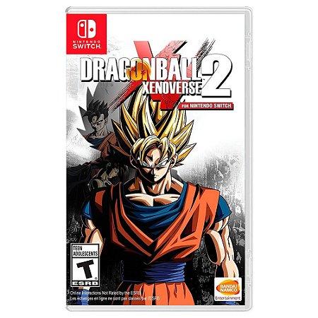 Dragon Ball Xenoverse 2 - SWITCH - Novo