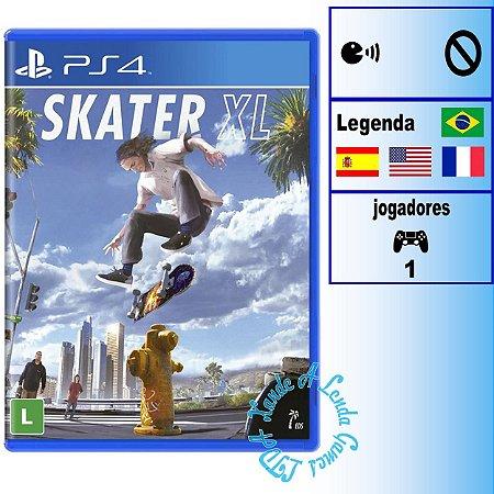 Skater XL - PS4 - Novo