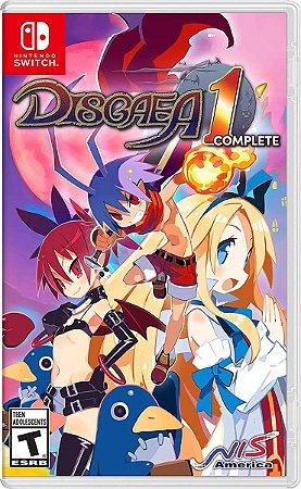 Disgaea 1 Complete - SWITCH - Novo