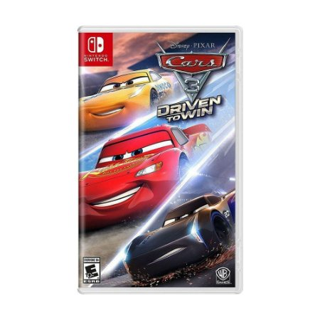Cars 3 Driven to Win (Carros 3 Correndo para Vencer) - SWITCH - Novo