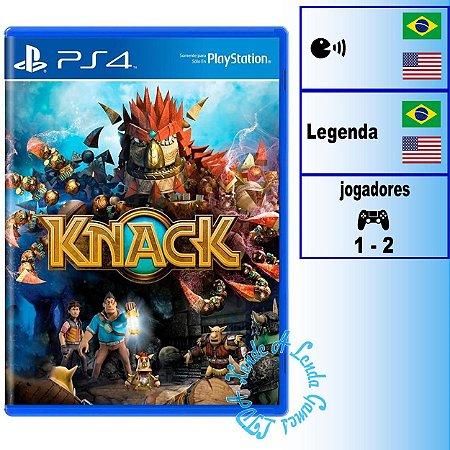 Knack - PS4 - Novo