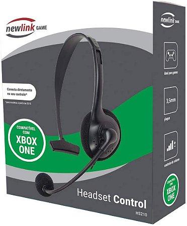 Headset Control Newlink HS210 - XBOX ONE - Novo