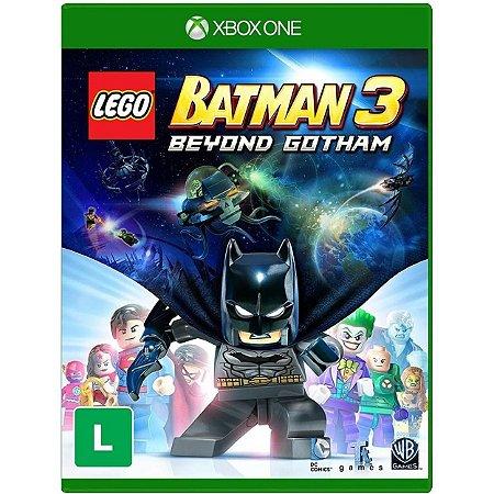 Lego Batman 3 Beyond Gotham - XBOX ONE - Novo