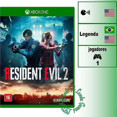 Resident Evil 2 - XBOX ONE - Novo