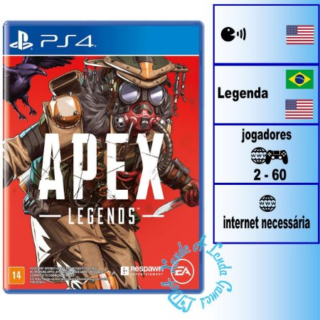 Apex Legends Bloodhound Edition - PS4 - Novo