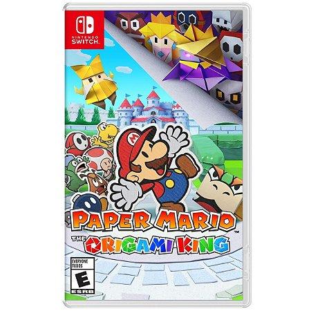 Paper Mario The Origami King - SWITCH - Novo