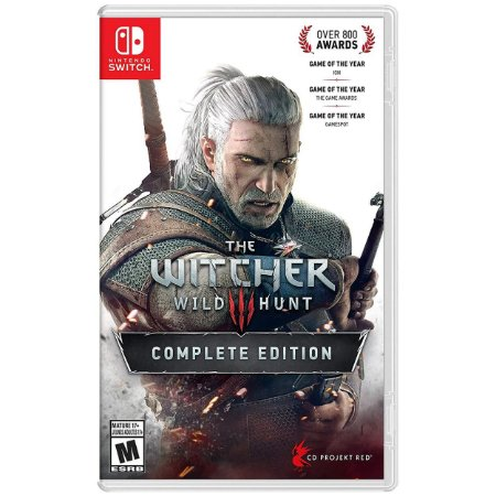The Witcher 3 Wild Hunt Complete Edition - SWITCH - Novo