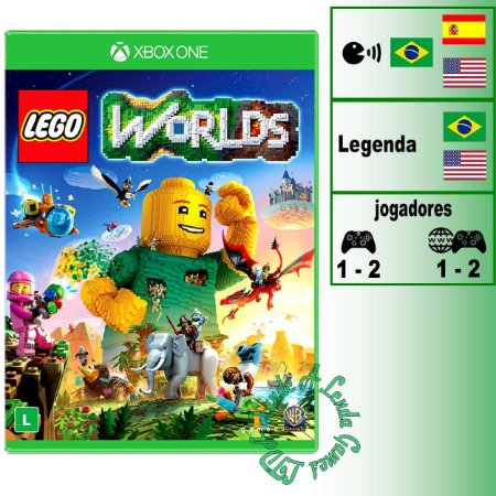 Lego Worlds - XBOX ONE - Novo