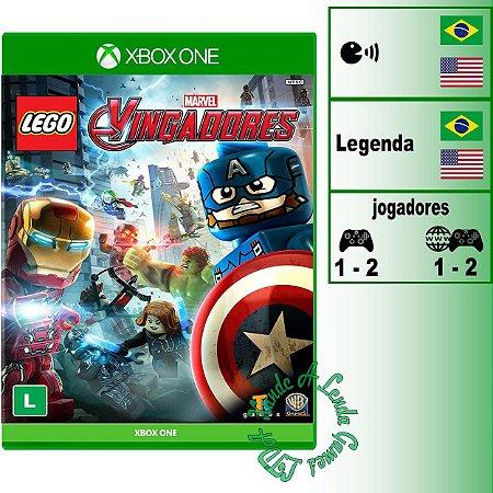 Lego Marvel Vingadores - XBOX ONE - Novo