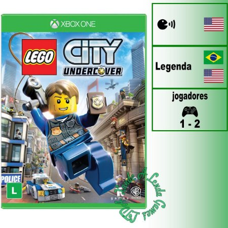 LEGO City Undercover - XBOX ONE - Novo