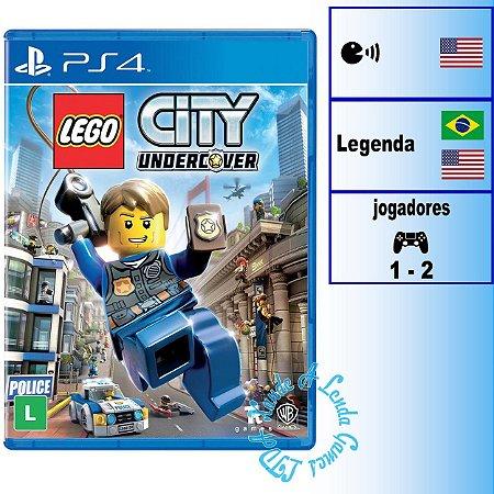 LEGO City Undercover - PS4 - Novo