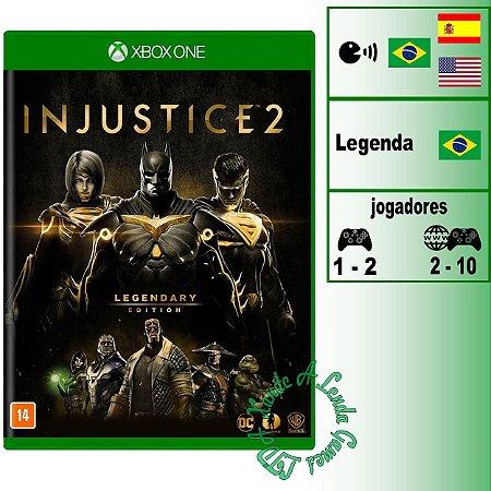 Injustice 2 Legendary Edition - XBOX ONE - Novo