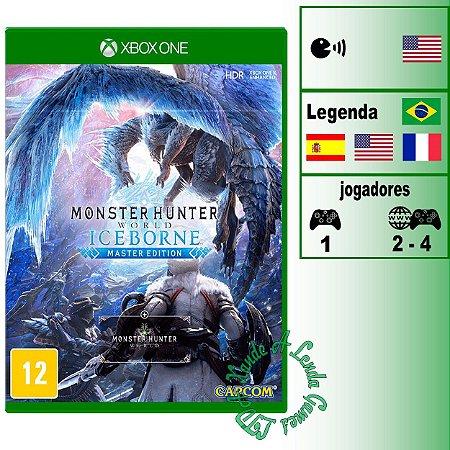 Monster Hunter World Iceborne Master Edition - XBOX ONE - Novo