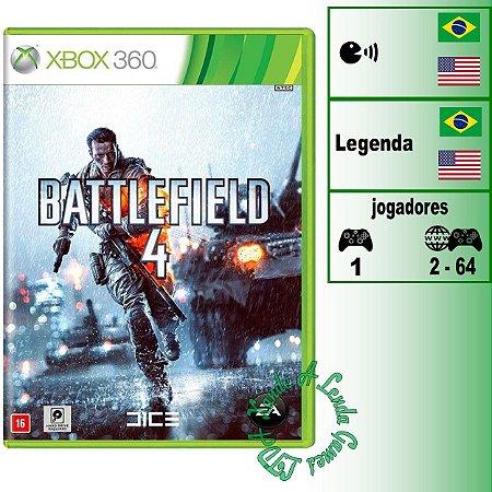 Battlefield 4 - XBOX 360 - Novo