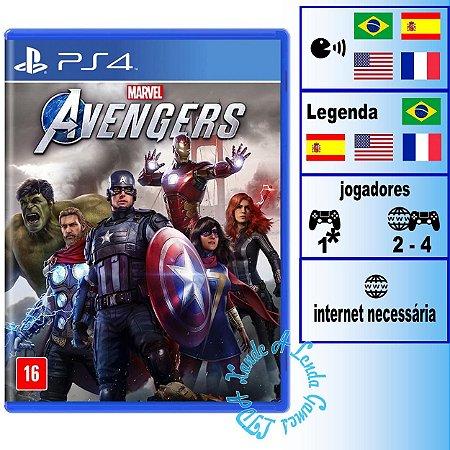 Marvel's Avengers (Marvel Vingadores) - PS4 - Novo