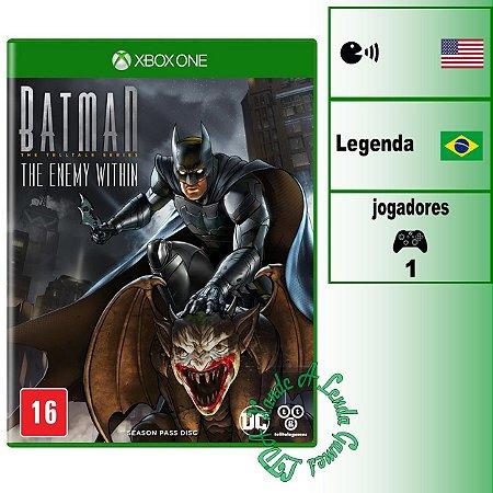 Batman The Enemy Within - XBOX ONE - Novo