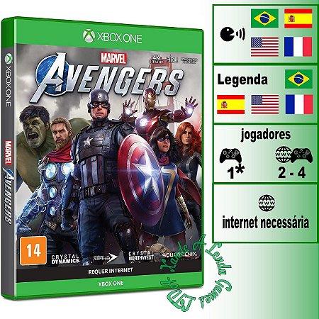 Marvel's Avengers (Marvel Vingadores) - XBOX ONE - Novo