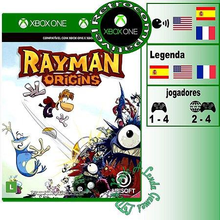 Rayman Origins - XBOX 360 / XBOX ONE - Novo