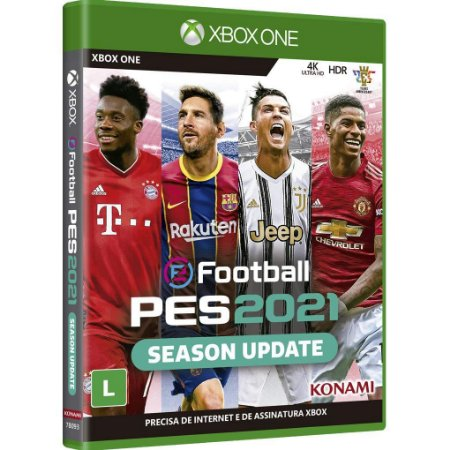 Pro Evolution Soccer 2021 (PES 2021) - XBOX ONE - Novo