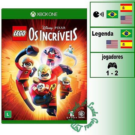 LEGO Disney°Pixar Os Incríveis - XBOX ONE - Novo