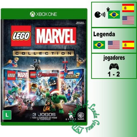 LEGO Marvel Collection - XBOX ONE - Novo
