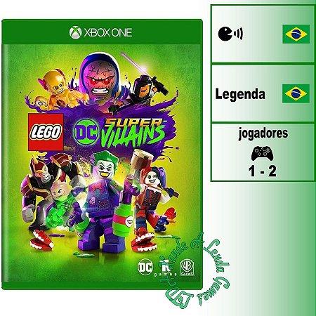 LEGO DC Super-Vilões - XBOX ONE - Novo