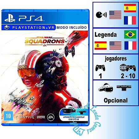 Star Wars Squadrons - PS4 - Novo